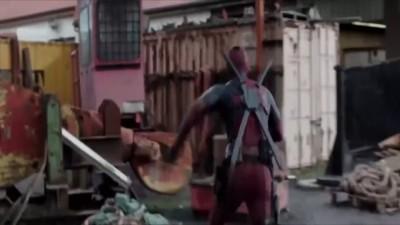 Переозвучка эпизода из фильма «Дэдпул»