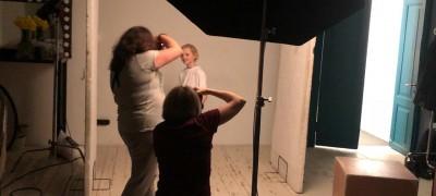 Бэкстейдж фотосъёмок с детьми