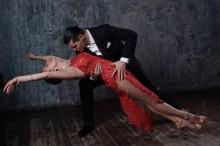 Танго – любовь и страсть в танце, работа Алёны Сливки
