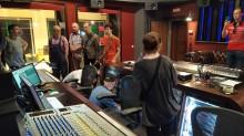 СинеЛаб СаундМикс радушно принял в гости наших студентов – будущих звукорежиссеров